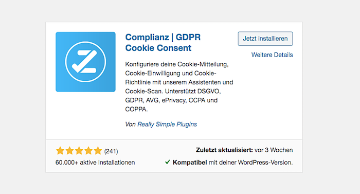 Complianz | GDPR Cookie Consent