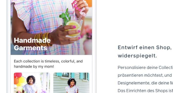 Wie werden Produkte eines Facebook Shops richtig markiert?